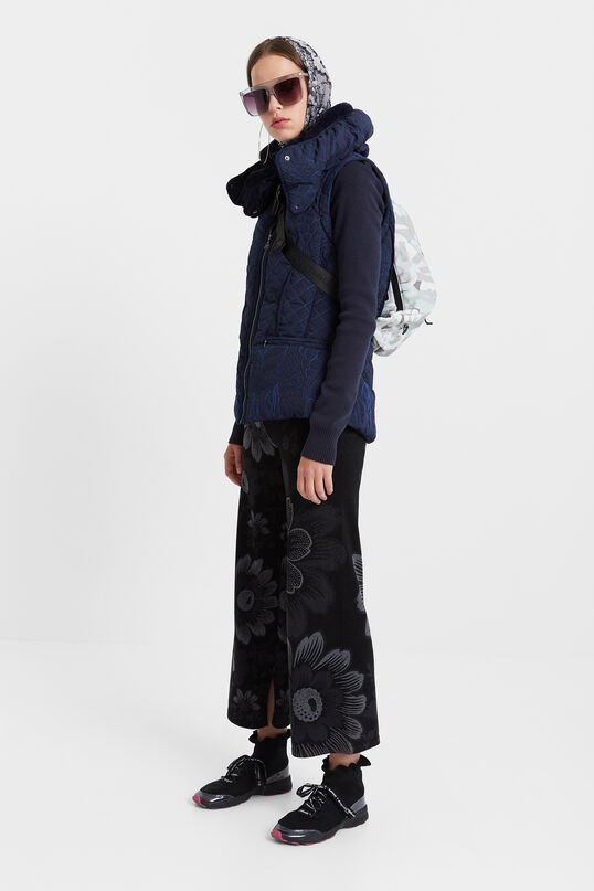 Two in one padded vest | Desigual