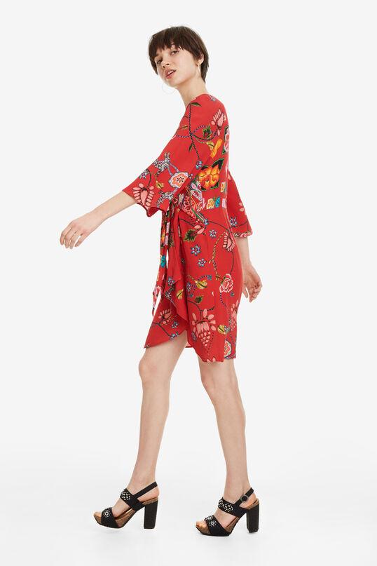Robe rouge Glen | Desigual