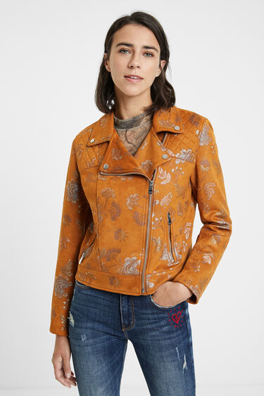 Slim biker jacket | Desigual