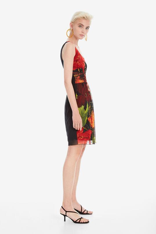 Vestido evasé Tulipán Papagayo Designed by M. Christian Lacroix | Desigual