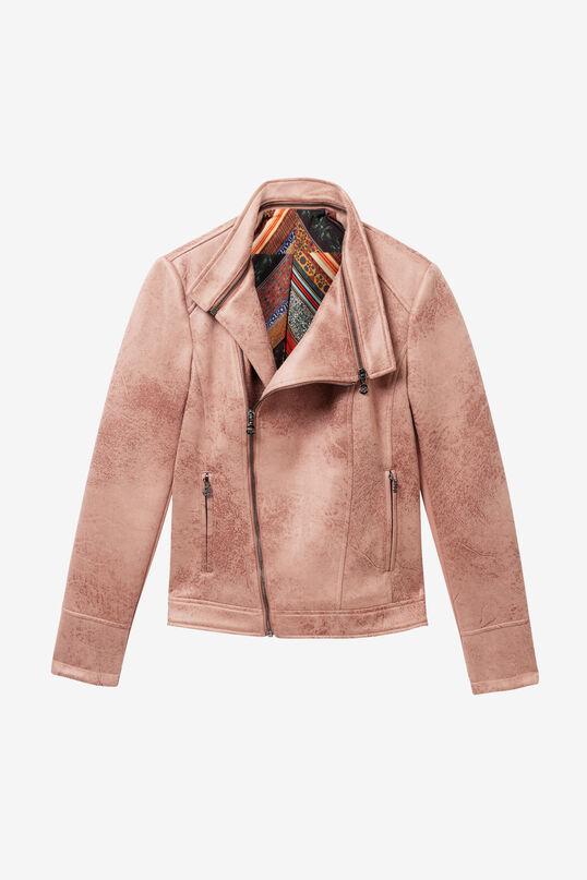 Pink biker jacket | Desigual