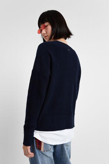 ターゲット柄ニットセーター | Desigual