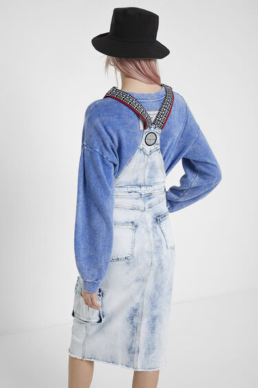 Overall type jean dress | Desigual
