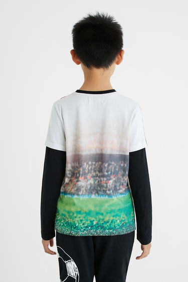 Shirt Foto-Print Fußball | Desigual