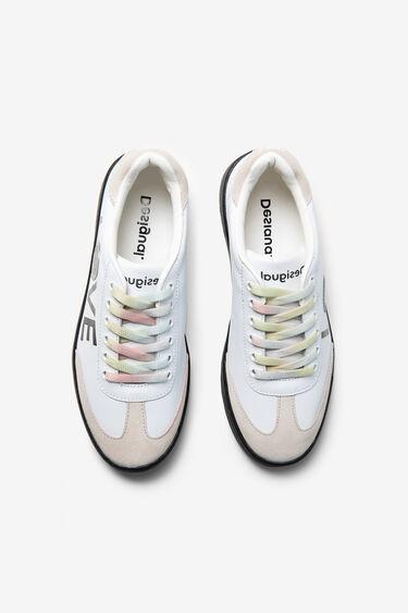 Sneakers met LOVE-tekst | Desigual