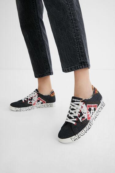 Mickey Mouse denim sneakers | Desigual