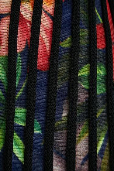 Open pleated jacket flowers | Desigual
