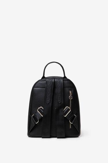 Mini plecak z tłoczeniami z motywem mandali | Desigual