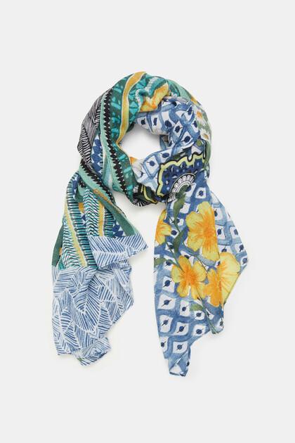 Fulard rectangular verds