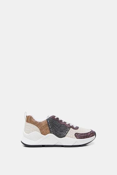 Sneakers reptile patch mandalas | Desigual