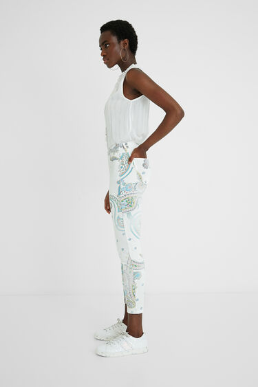 Skinny Jeans knöchellang | Desigual