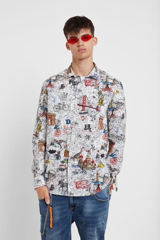 Slim Bolimania shirt   Desigual