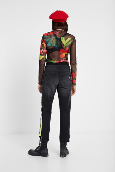 Hybrid denim sports trousers   Desigual