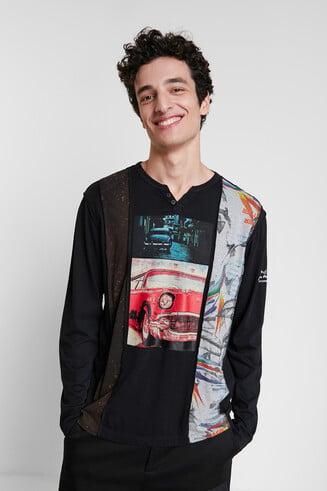T-shirt imprimés photographiques