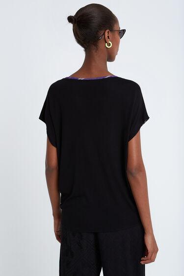 T-shirt patchwork foulard noué Designed by M. Christian Lacroix | Desigual