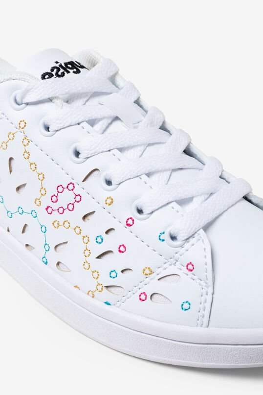 Tennis Shoes Canvas embroidered | Desigual