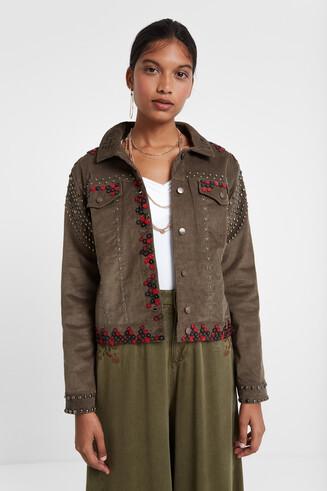 Desigualité corduroy jacket