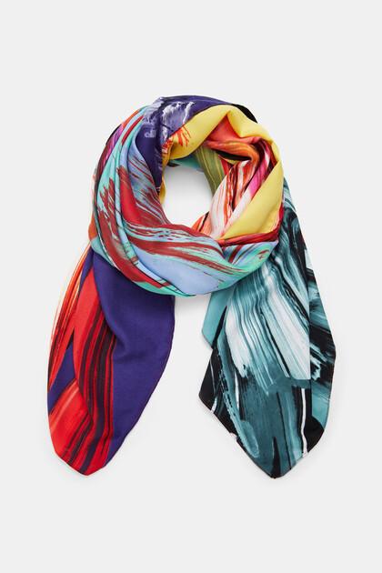 Fulard quadrat cor arty