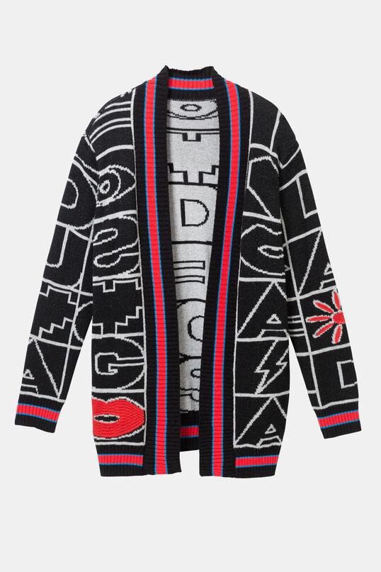 Jersei jaqueta símbols | Desigual