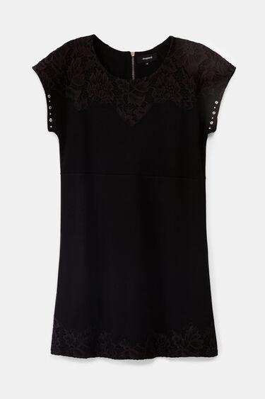 Robe courte noire | Desigual