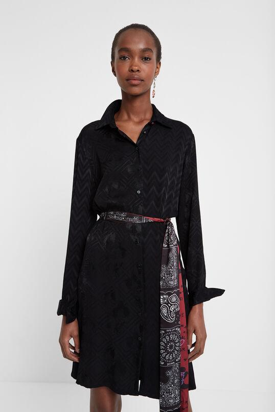 Shirt dress belt | Desigual