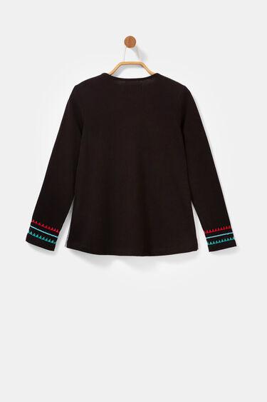 Camiseta corazón bordados | Desigual