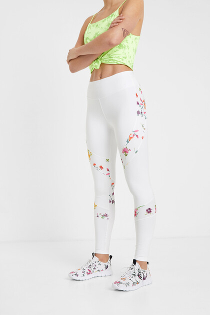 Leggings estampat floral