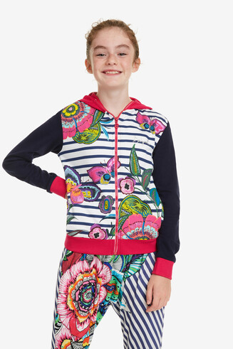 Sweatshirt gemixte prints Chejov
