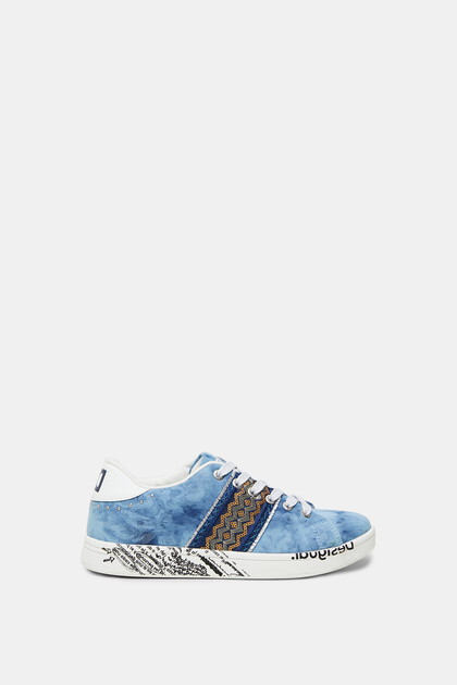 Denim effect sneakers - Unisex