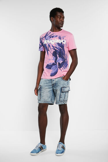 Floral T-shirt 100% cotton | Desigual