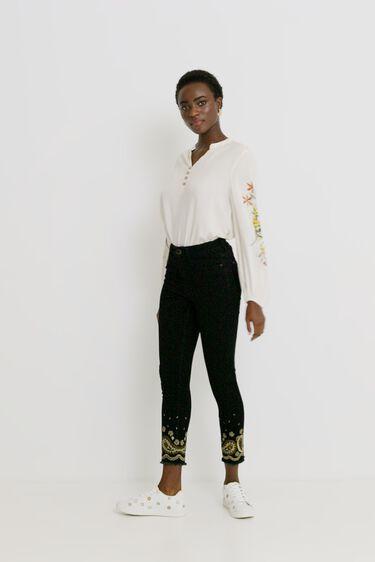 Skinny ankle grazer jeans | Desigual