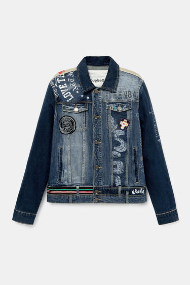 Jean jacket patches | Desigual