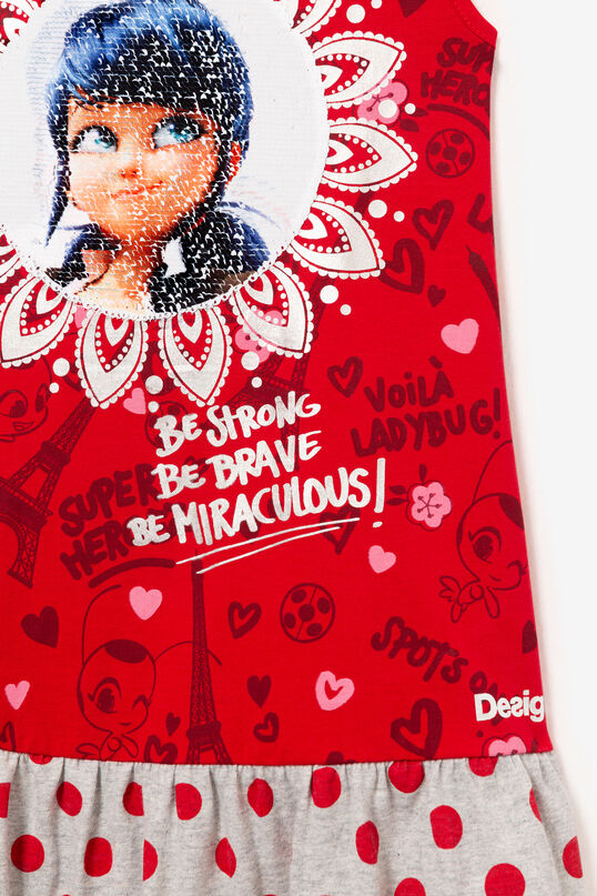 Robe rouge sans manches Miraculous | Desigual