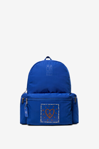 Blue backpack Colors OSS