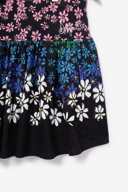 Floral miniskirt reversible sequins | Desigual