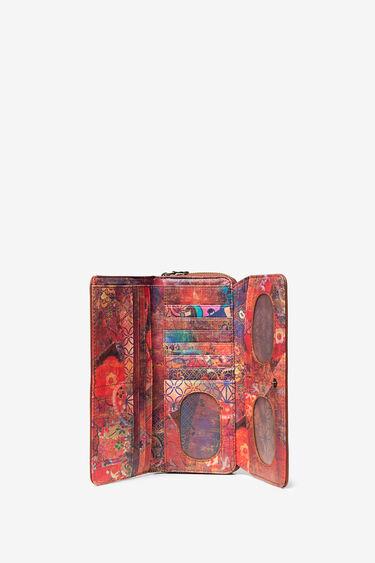 Rectangular wallet, embossed with mini-studs   Desigual