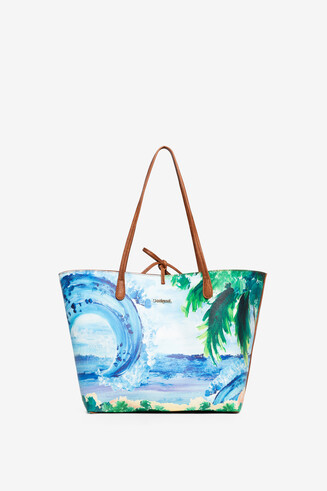 Reversible Tropical Bag Capri