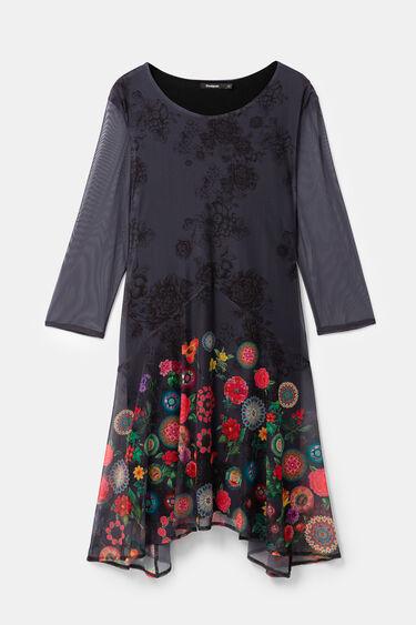Floral multilayer dress | Desigual
