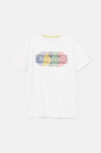 Koszulka z logo w stylu arty