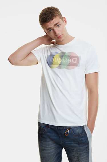 Arty logo T-shirt | Desigual