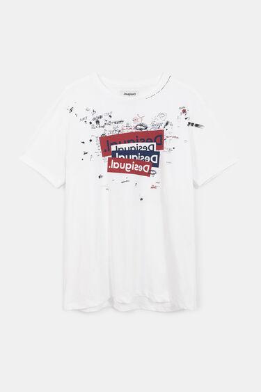 Basic T-shirt logo and bolimania | Desigual