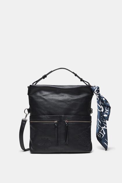 Square bag flat pockets