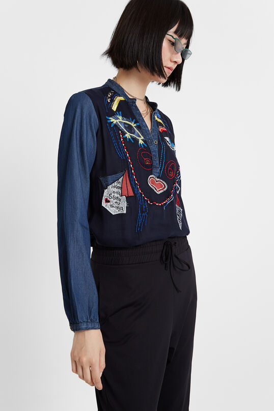 Arty long sleeve blouse | Desigual