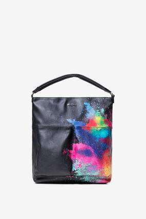 Colour Explosion Black Bag Holi Kobe