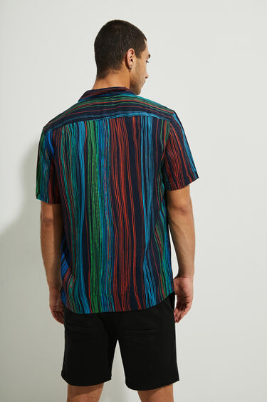 Camisa manga corta rayas | Desigual