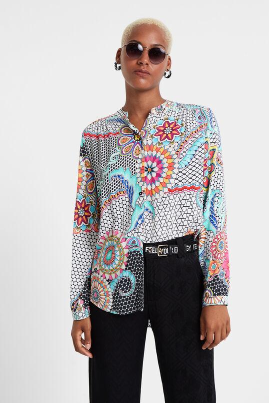 Chemise mosaïque fleurs | Desigual