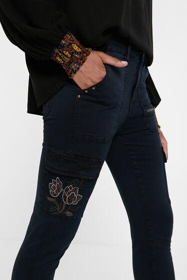 Slim fit spijkerbroek | Desigual