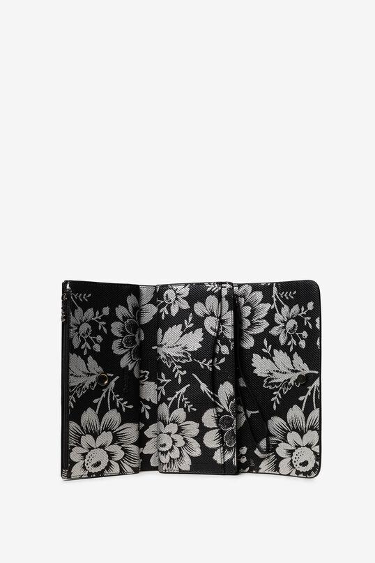 Reversible floral wallet | Desigual