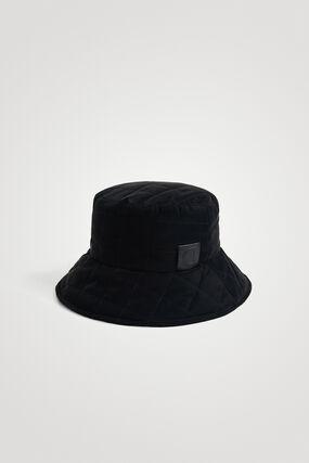 Sombrero de lluvia capitoné