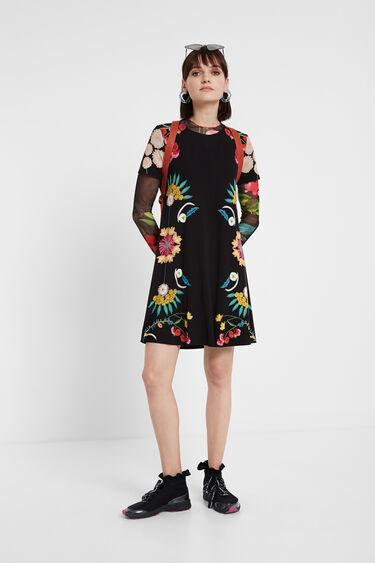 Robe t-shirt florale | Desigual